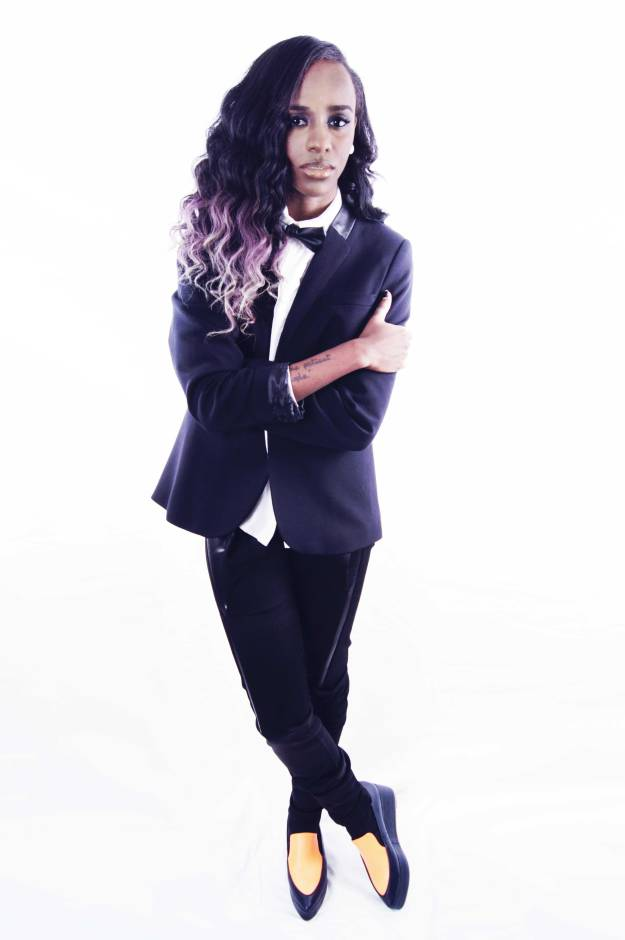 Denise Brown Styles Angel Haze For Fault Magazine | Fashion itinerary